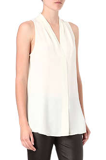 THEORY Hylin silk top