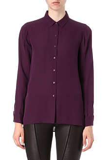 THEORY Kissa silk shirt