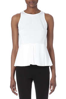 THEORY Fif peplum top