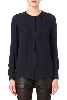 THEORY Edera silk shirt