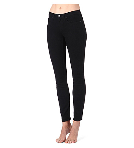 THEORY Billy skinny mid-rise jeans (Black
