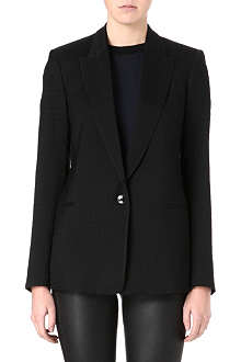 THEORY Textured houndstooth blazer