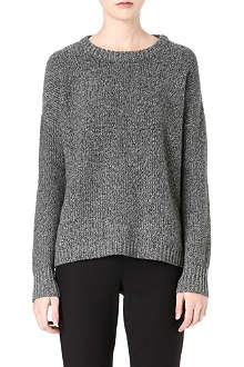 THEORY Clancia wool-blend knitted jumper