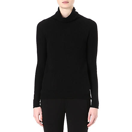 THEORY Norman cashmere jumper (Black