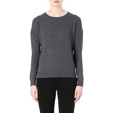 THEORY Tollie cashmere jumper (Charcoal