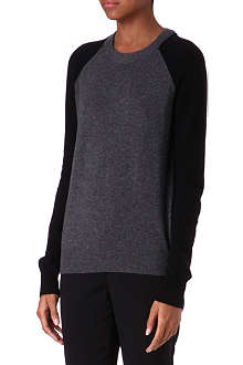 THEORY Cashmere knitted jumper