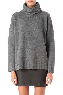 THEORY Dreeden roll-neck knitted jumper
