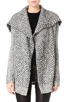 THEORY Chunky open-knit cardigan