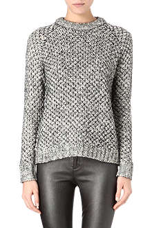 THEORY Chunky open-knit jumper