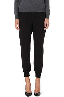 THEORY Arai silk trousers