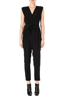 THEORY Pavona silk jumpsuit