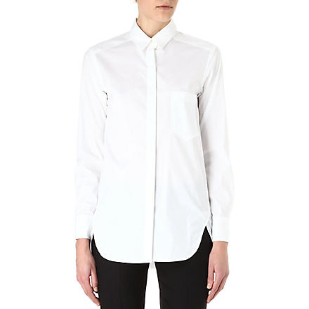 THEORY Fedele oversized shirt (White