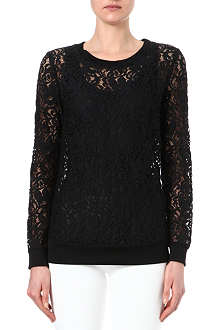 THEORY Jaidyn lace jumper