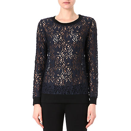THEORY Jaidyn lace jumper (Uniform