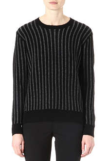 THEORY Jaidyn striped jumper