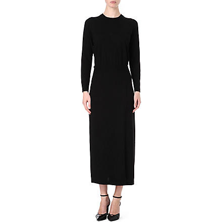 THEORY Caterinya knitted dress (Black