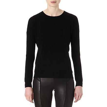 THEORY Tollie cashmere jumper (Black