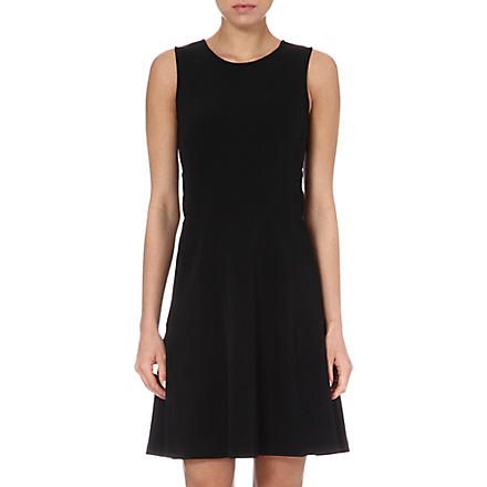 THEORY Nikay flared dress (Black
