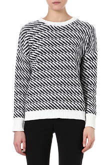 THEORY Andrista knitted jumper