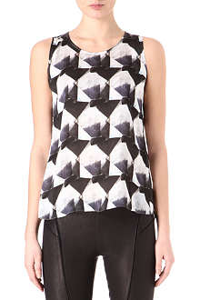 THEYSKENS THEORY Bolin Irock silk top