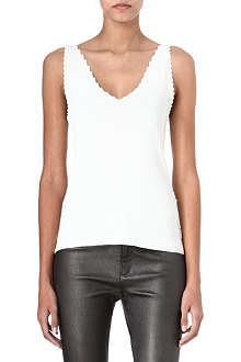 THEYSKENS THEORY Koemi scallop-edged vest