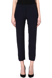 THEORY Korene silk trousers