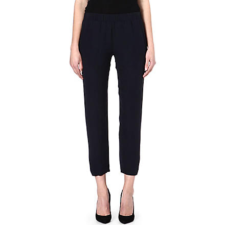 THEORY Korene silk trousers (Uniform