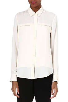 THEORY Olava silk shirt