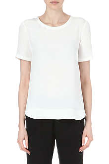THEORY Katsley silk t-shirt