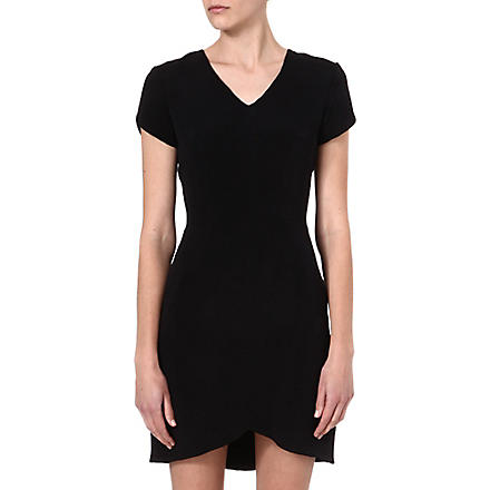 THEORY Teagan silk dress (Black
