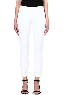 THEORY Belisa stretch-cotton trousers