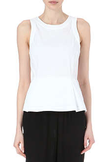 THEORY Ballise peplum top