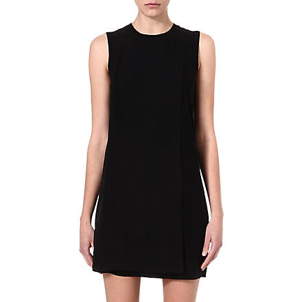 THEORY Fluidity Dambran dress (Black