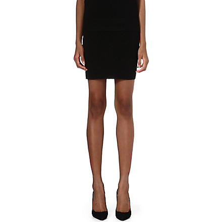 THEORY Obryn mini skirt (Black