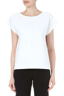 THEORY Mega Sorchan textured top