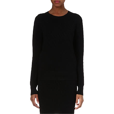 THEORY Hallree ribbed-knit jumper (Black