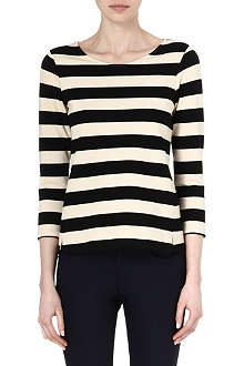 THEORY Valona striped top