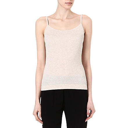 THEORY Trissa K Forli vest top (Chalk heather
