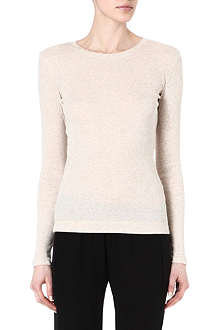 THEORY Kanitta long-sleeved jersey top