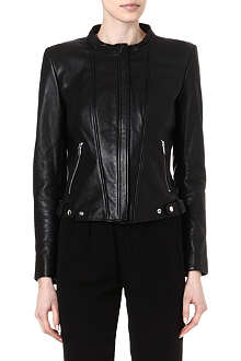 THEYSKENS THEORY Janner leather jacket