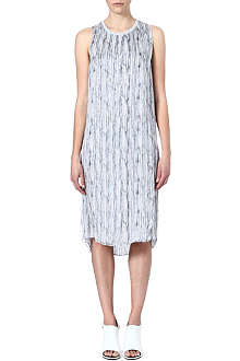 THEYSKENS THEORY Deri printed silk dress