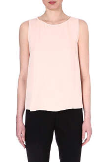 THEORY Maidena silk top