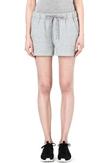 THEORY Tangle jersey shorts