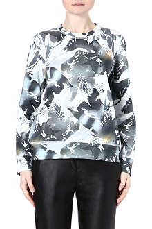 THEORY Rave Terry cotton jumper