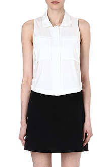 THEORY Gemia sleeveless shirt