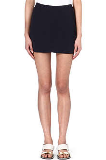 THEORY Textured mini skirt