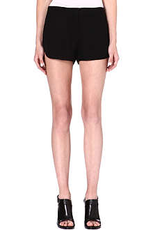 THEORY Nadrea silk shorts