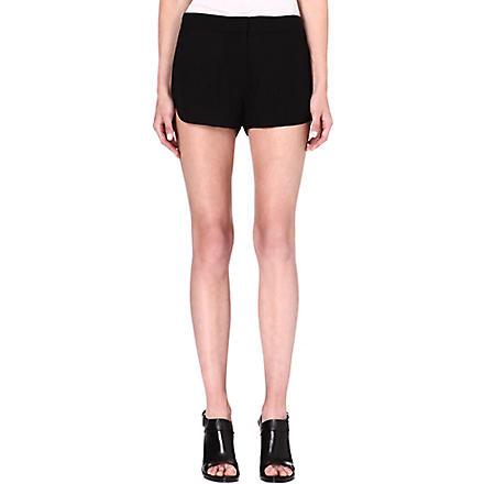 THEORY Nadrea silk shorts (Black