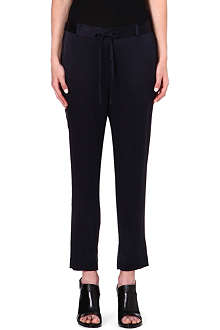THEORY Pyjama satin trousers