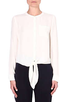 THEORY Kevine silk blouse